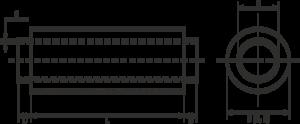 Размеры трубы в ППУ изоляции